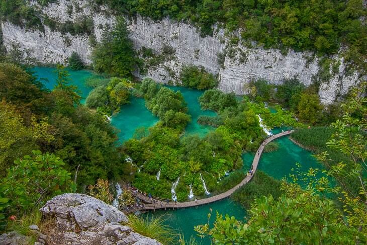 plitvicesjöarna national park