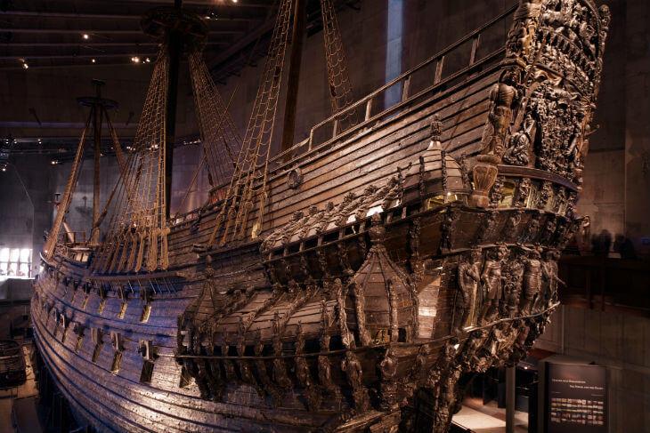 vasaskeppet svenska sevärdheter