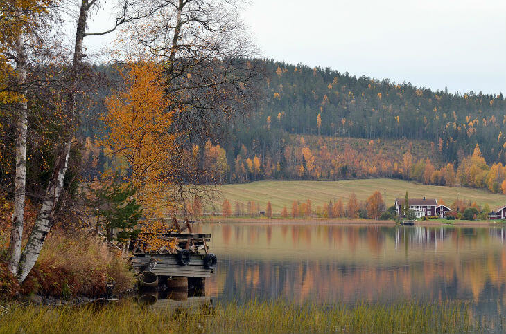 visiting sweden during autumn