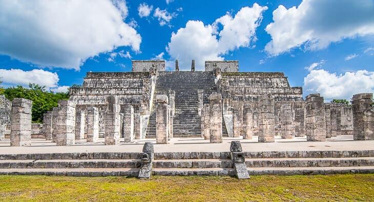 tempel chichen itza mexiko