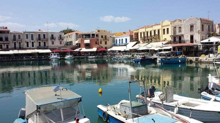venetianska hamnen rethymnon