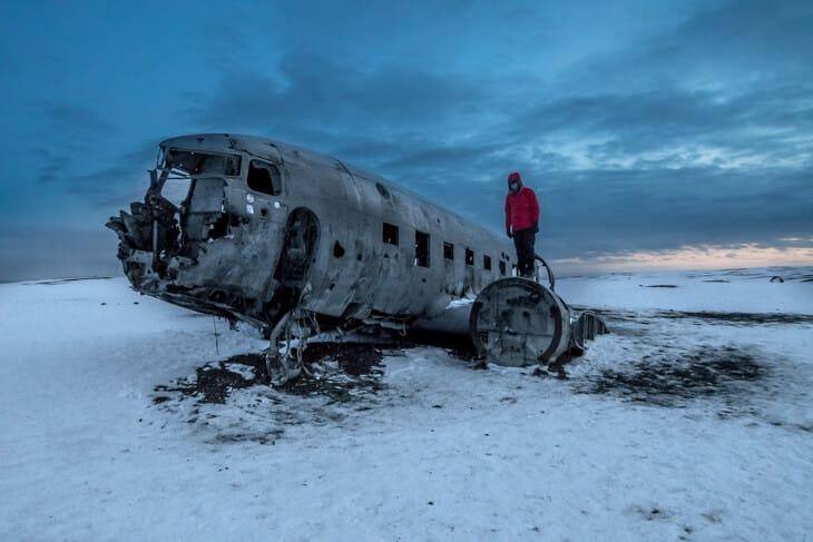 DC 3 airplane iceland