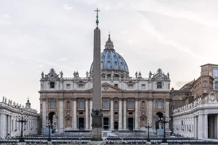 saint peterskyrkan vatikanstaten