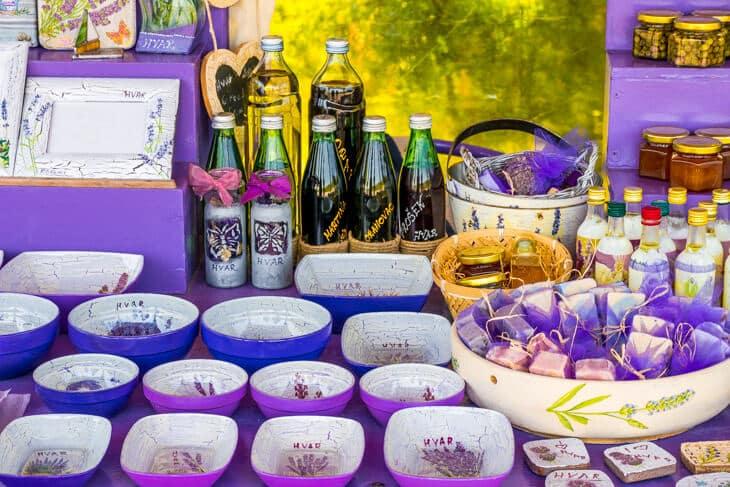 Croatia photos lavender