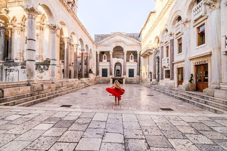 Croatia split diocletians palace
