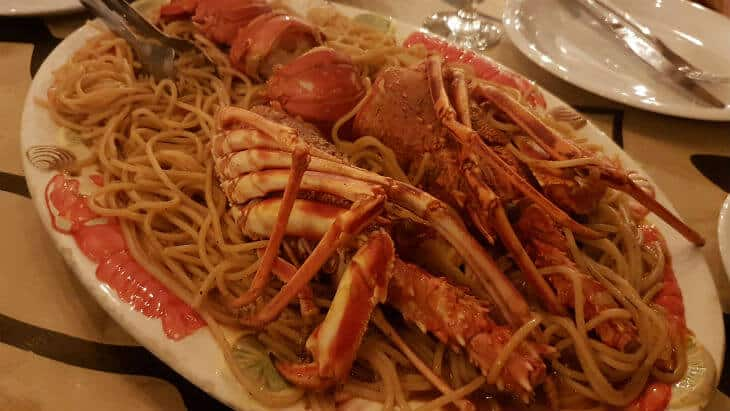 asimenos lobster pasta