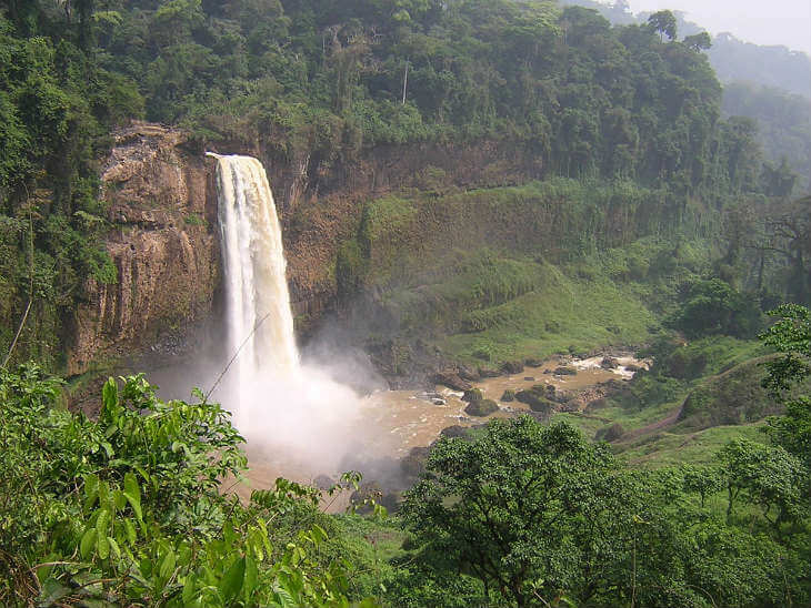 cameroon waterfall