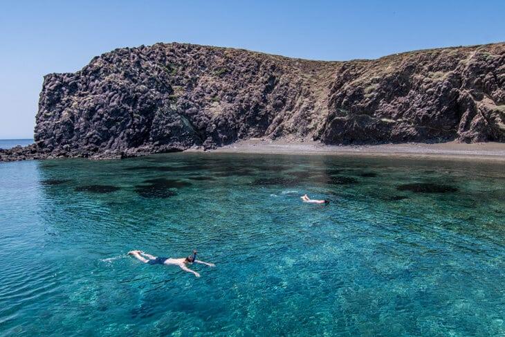 skyros snorkeling