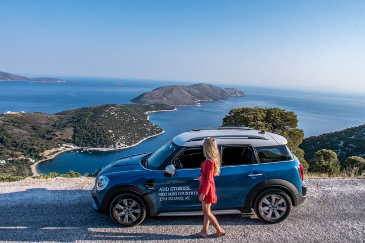 rent a car skyros