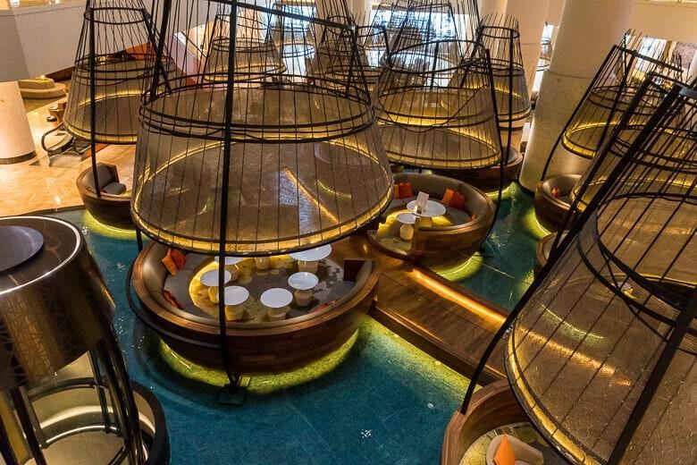 lobby pods
