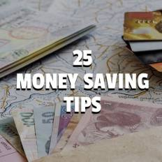 25 money saving tips