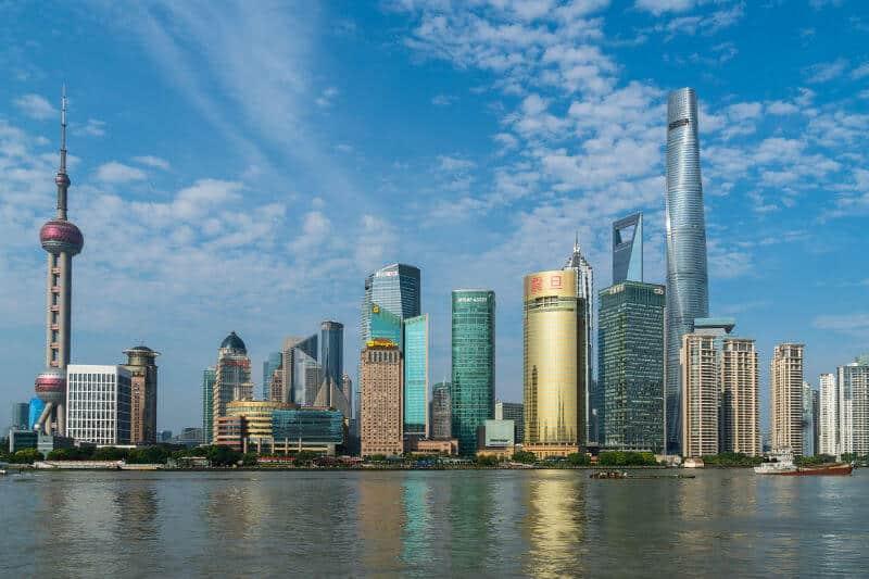 shanghai megastäder