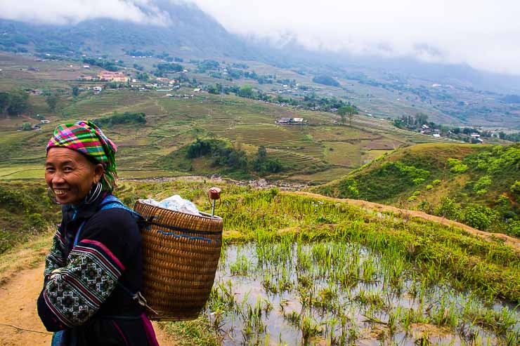 Hill tribe Sapa lady