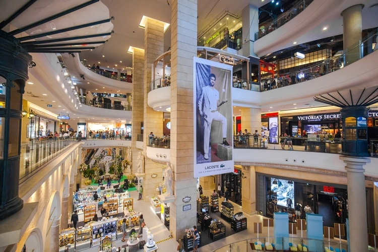Bangkok shoppingcenter