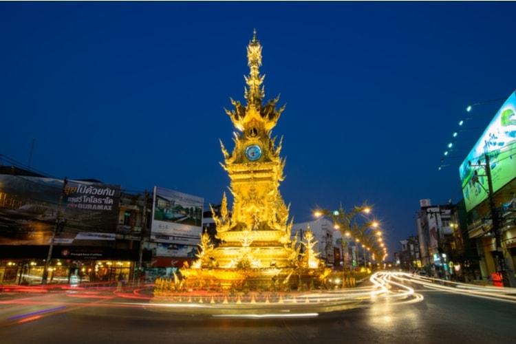 Kända sevärdheter i Chiang Rai