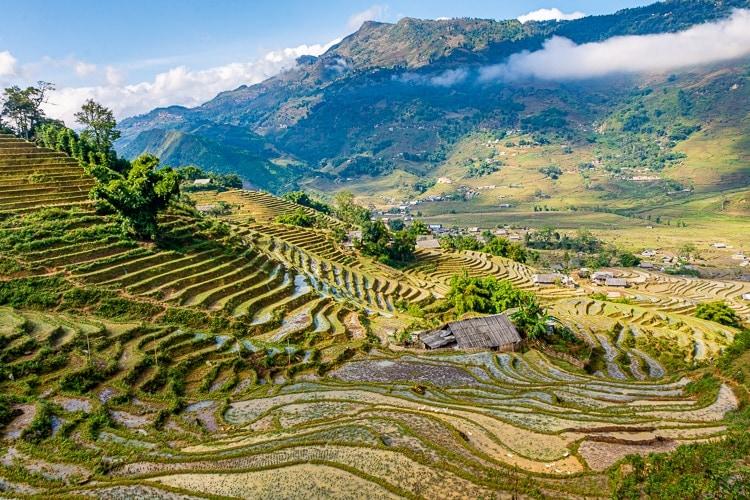 Sapa i Vietnam
