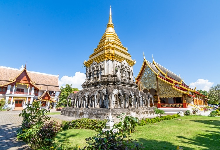 Tempel i Chiang Mai