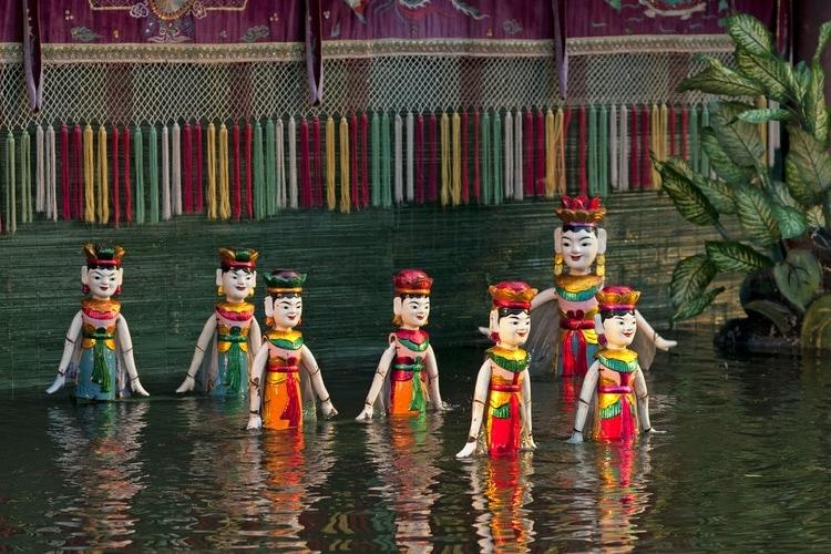 Vattendocksteater i Vietnam
