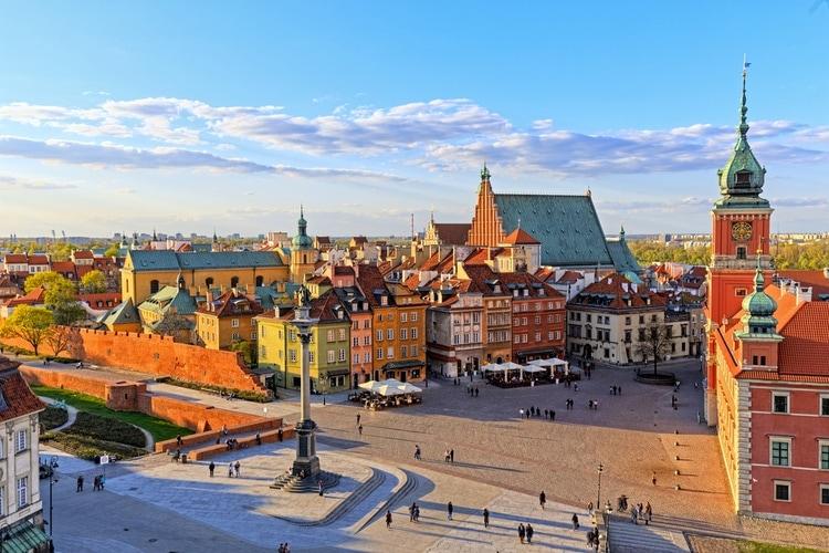 Gamla stan i Warszawa