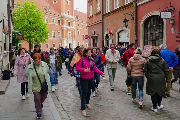 Rundvandring i Polens huvudstad