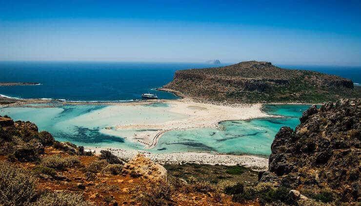 Stränder på Kreta
