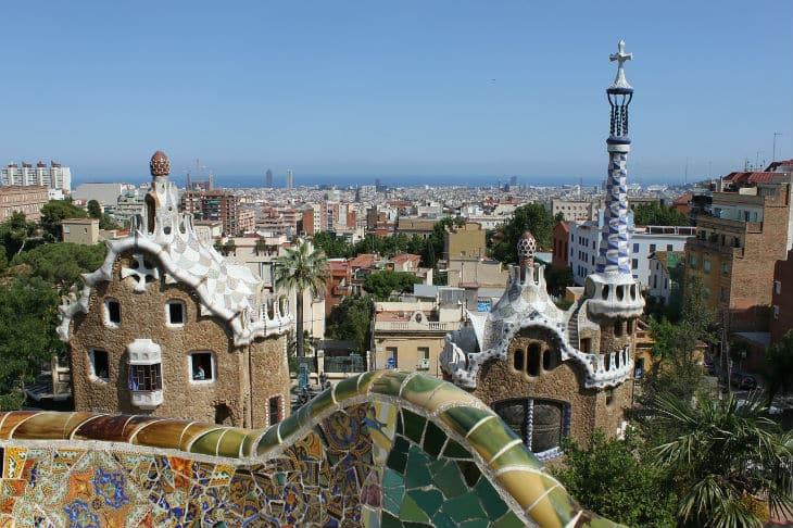 parc guell - barcelona sevärdheter