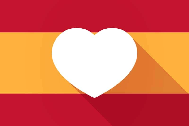 Jag älskar Spanien