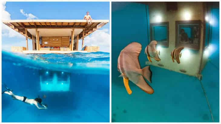 Manta Resort Is Perhaps The Worldu0027s Only Floating Hotel? Here You Live Out In  The Indian Ocean Inside A Floating House With A Ground Floor That Is Under  ...
