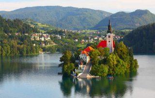 bledsjön Slovenien