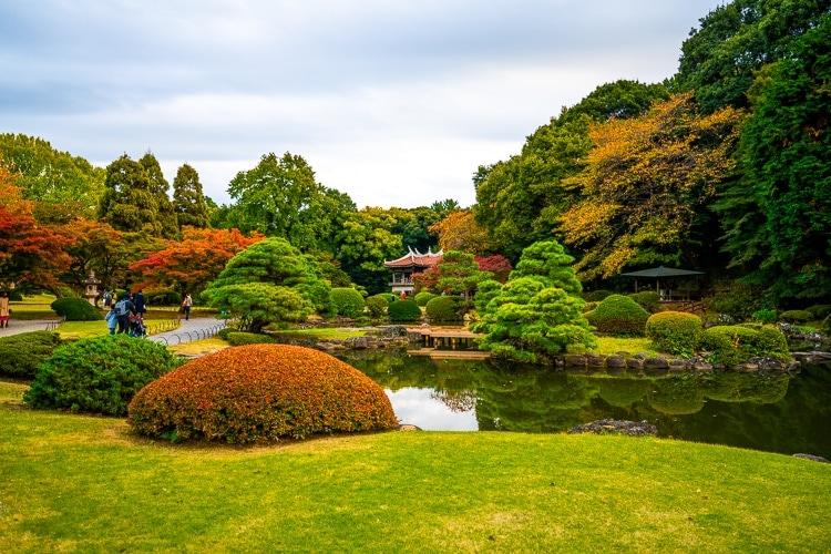Shinjuku Gyeon National Garden
