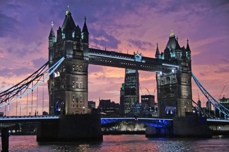 saker man måste göra i london