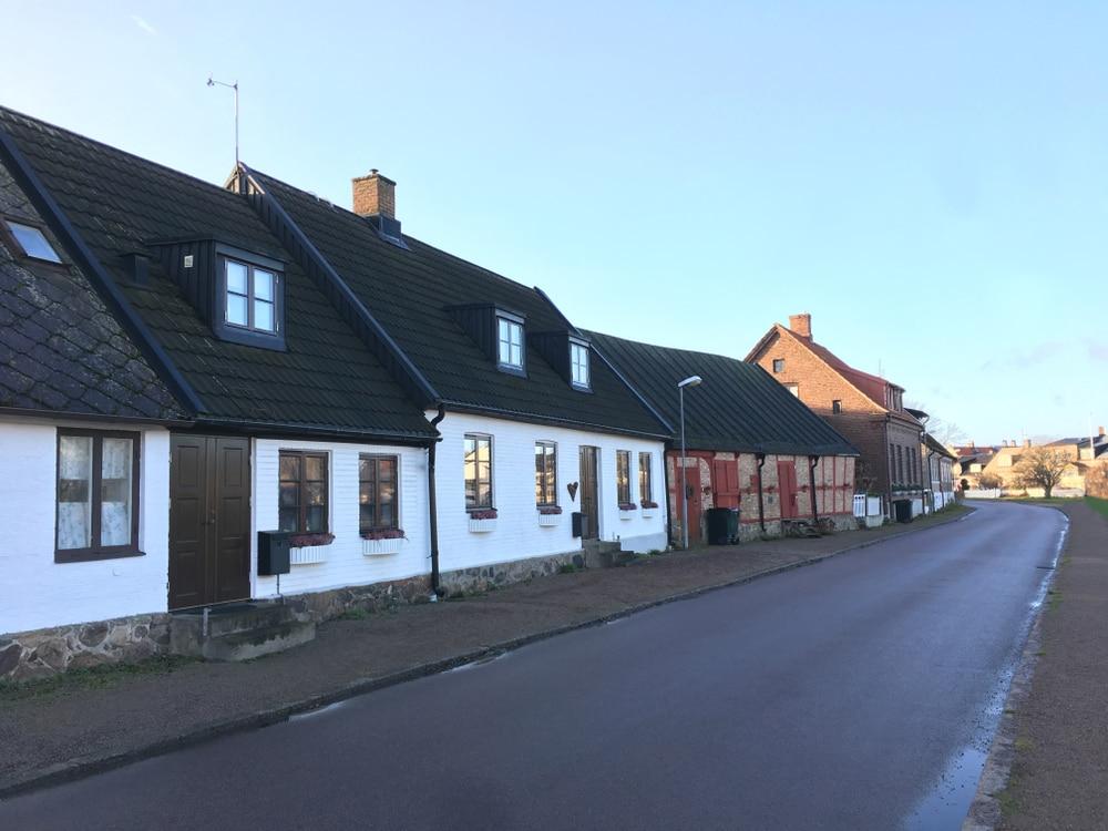 Hus i Råå