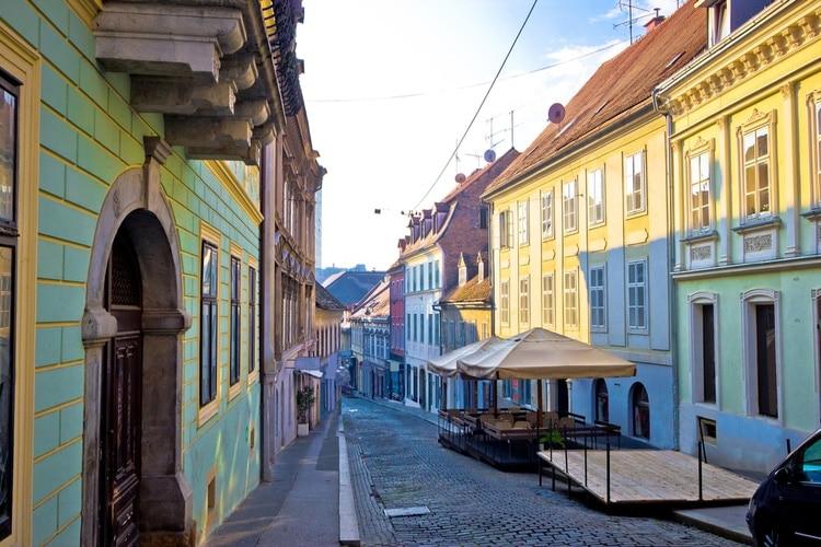 Zagrebs gamla stadsdel