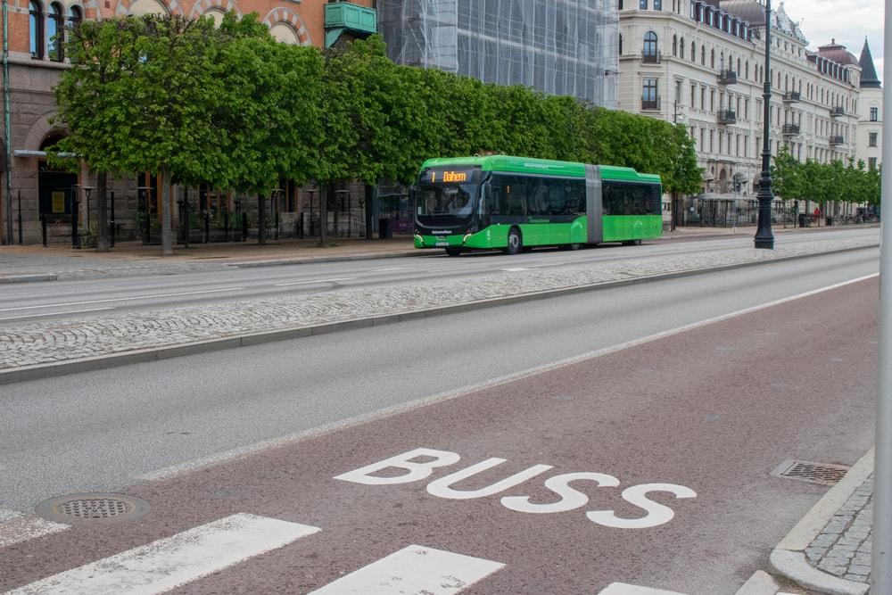 buss i helsingborg