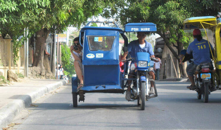 Tricycle Transport Boracay