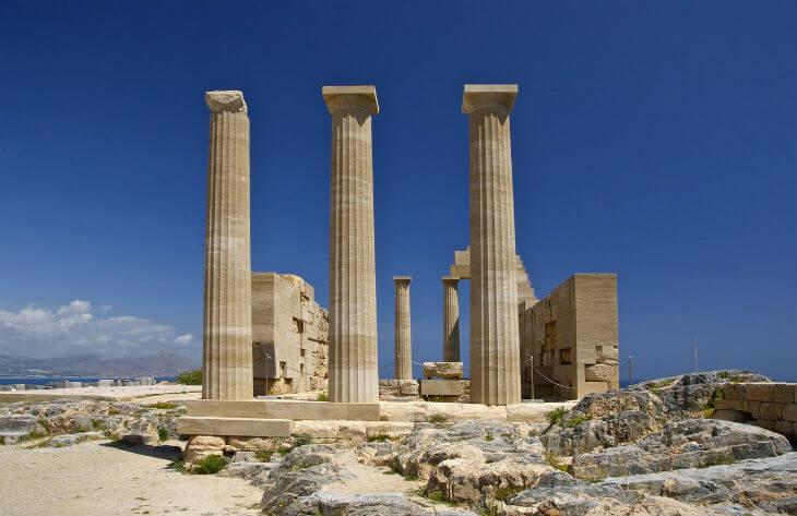 akropolis templet lindos