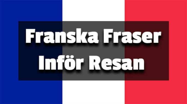 franska fraser