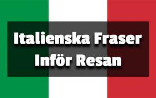 italienska fraser