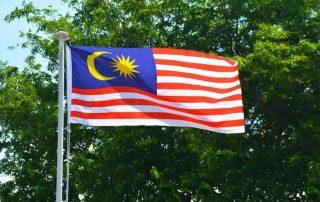 malaysiens flagga