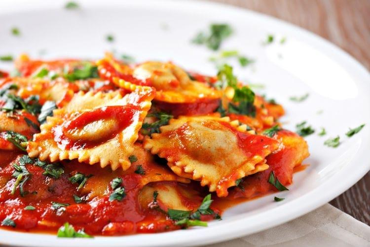 ravioli - italiensk mat