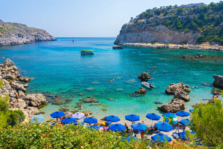 The Ultimate guide to Rhodes Beaches in Greece