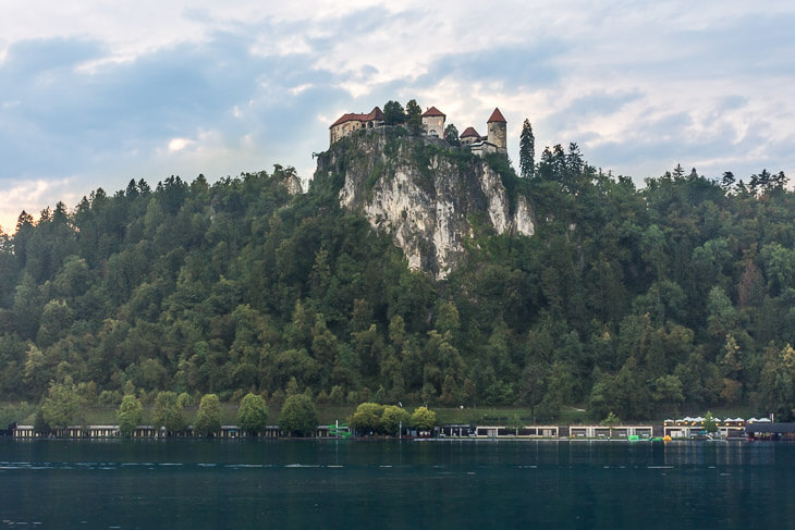 castle in Bled