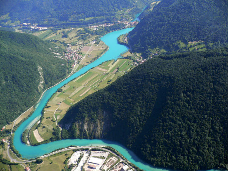 soca floden