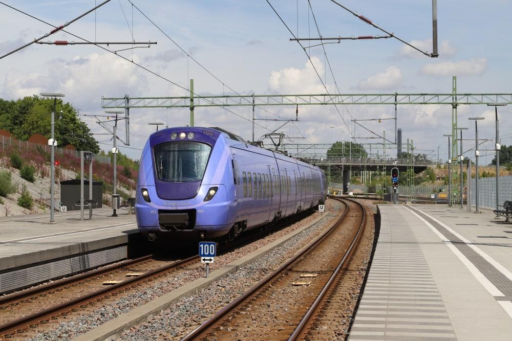 Tåg till Malmö
