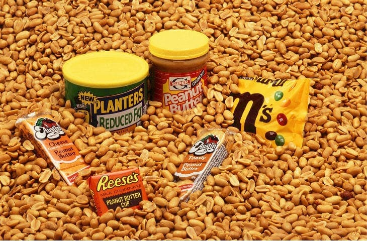 allergisk mot jordnötter