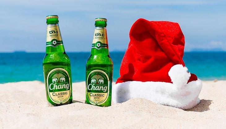 fira jul utomlands i thailand