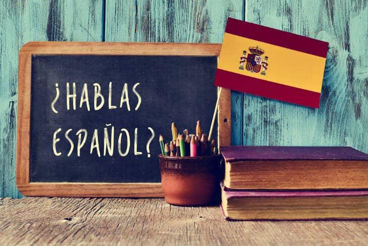 lära sig spanska