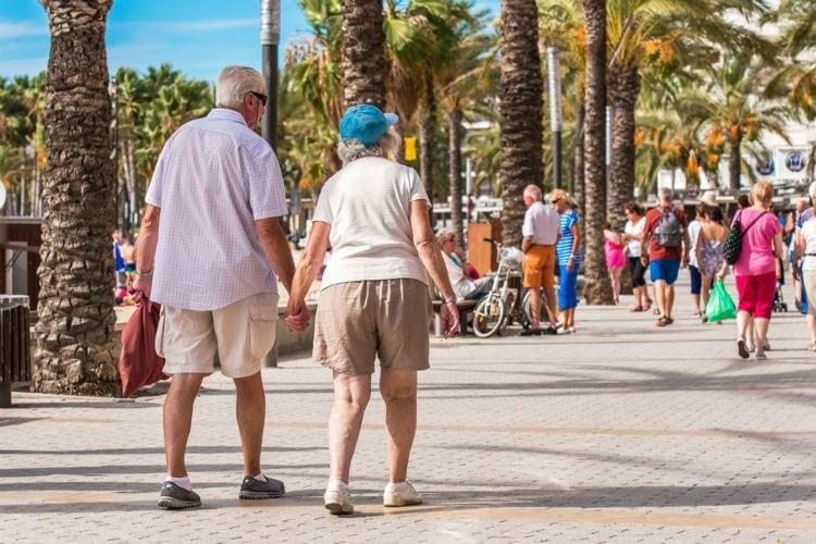 pensionär i spanien