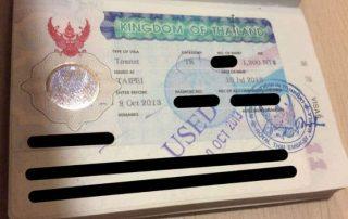 visum i sydostasien