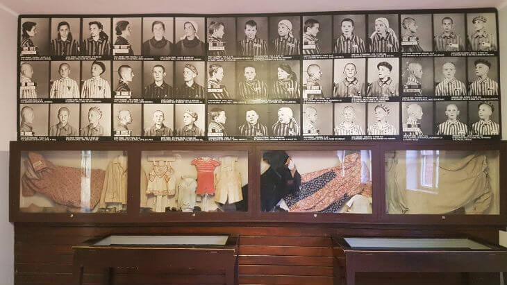 barn som dog i auschwitz